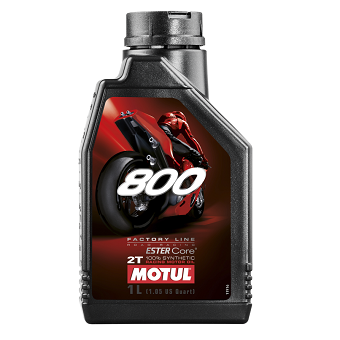 Моторное масло Motul 800 2T FL Road Racing Ester Core
