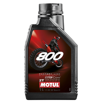 Моторное масло Motul 800 2T FL Off Road Ester Core