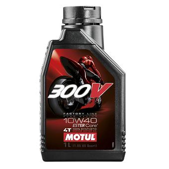 Моторное масло Motul 300 V 4T FL Road Racing SAE 10W-40