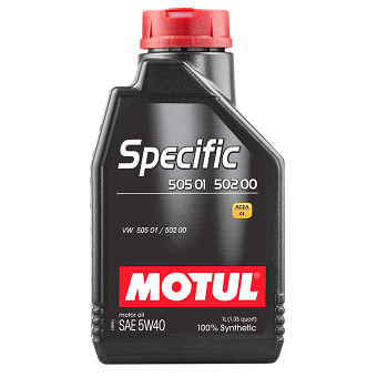 Моторное масло Motul Specific 505 01/502 00/505 00 SAE 5W-40