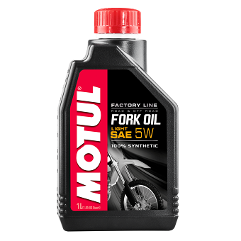 Вилочное масло Motul Fork Oil FL LIGHT SAE 5W 100% Ester
