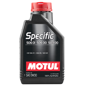 Моторное масло Motul Specific 506.01-506.00-503.00 SAE 0W-30