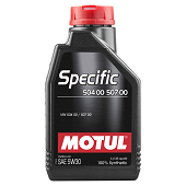 Моторное масло Motul Specific 504 00/507 00 SAE 5W-30