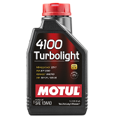 Моторное масло Motul 4100 Turbolight SAE 10W-40
