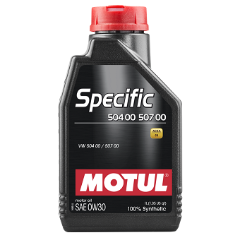 Моторное масло Motul Specific 504 00/507 00 SAE 0W-30