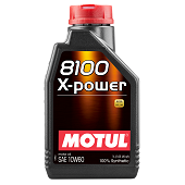 Моторное масло Motul 8100 X-Power 10W-60